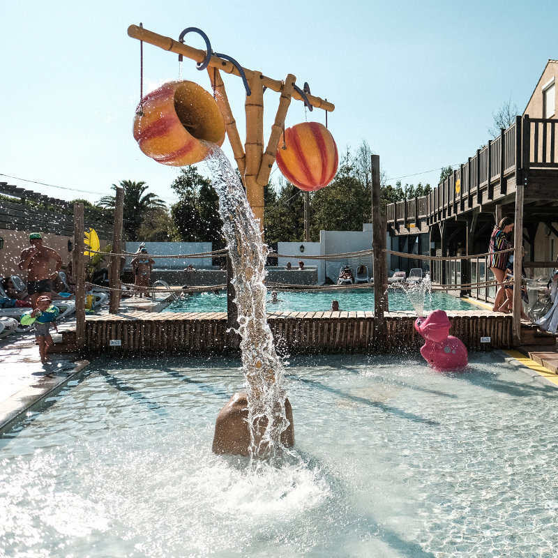 Camping Valras plage 4 à 8 ans