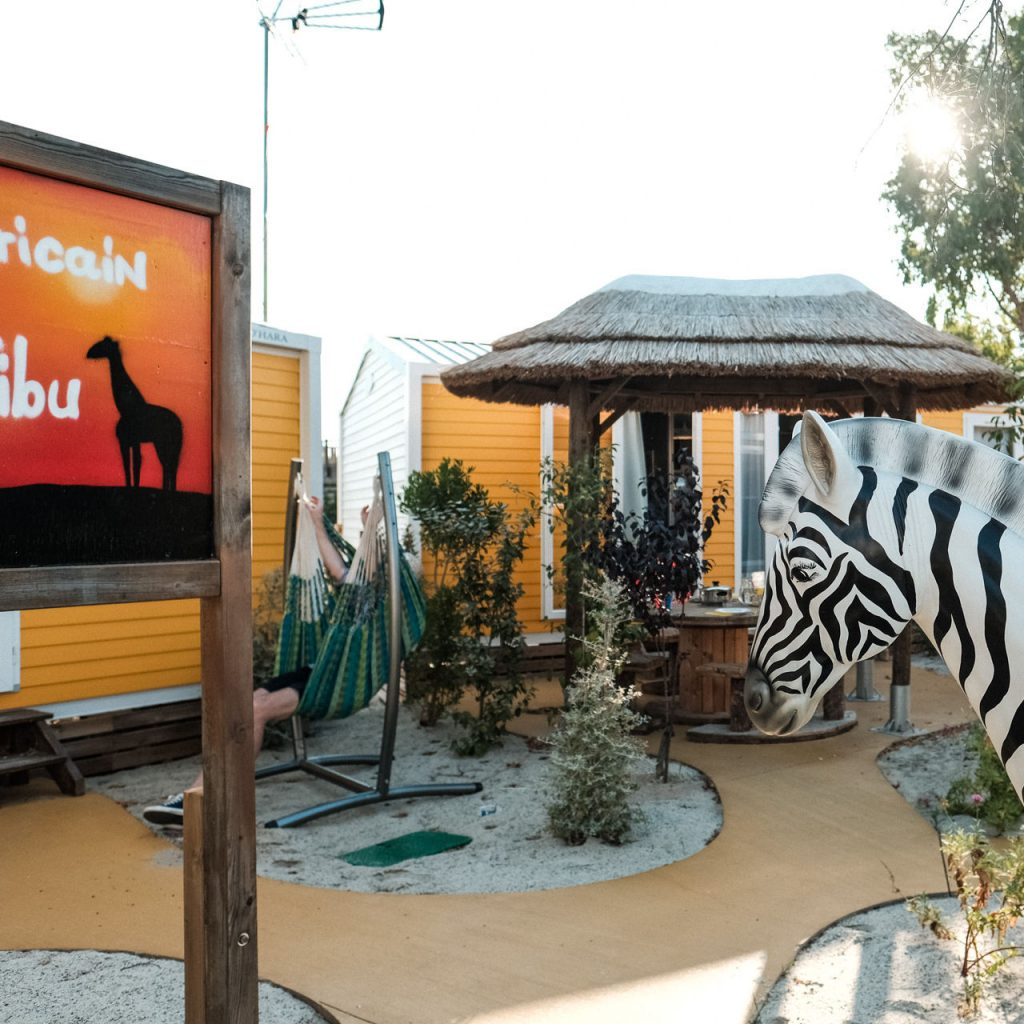 ambiance ludique confortable camping valras plage