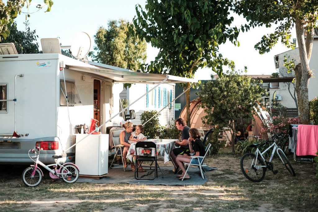Emplacement spacieux camping Valras-plage
