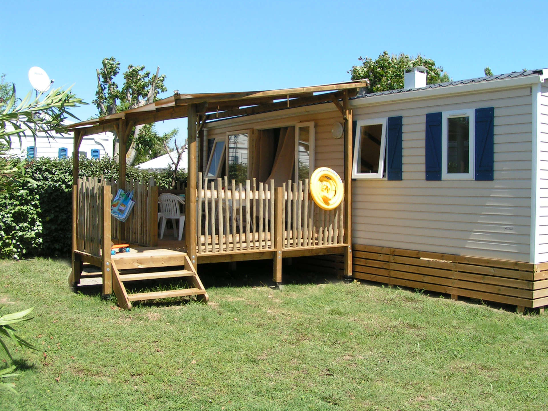 mobil-home family premium camping Valras Plage
