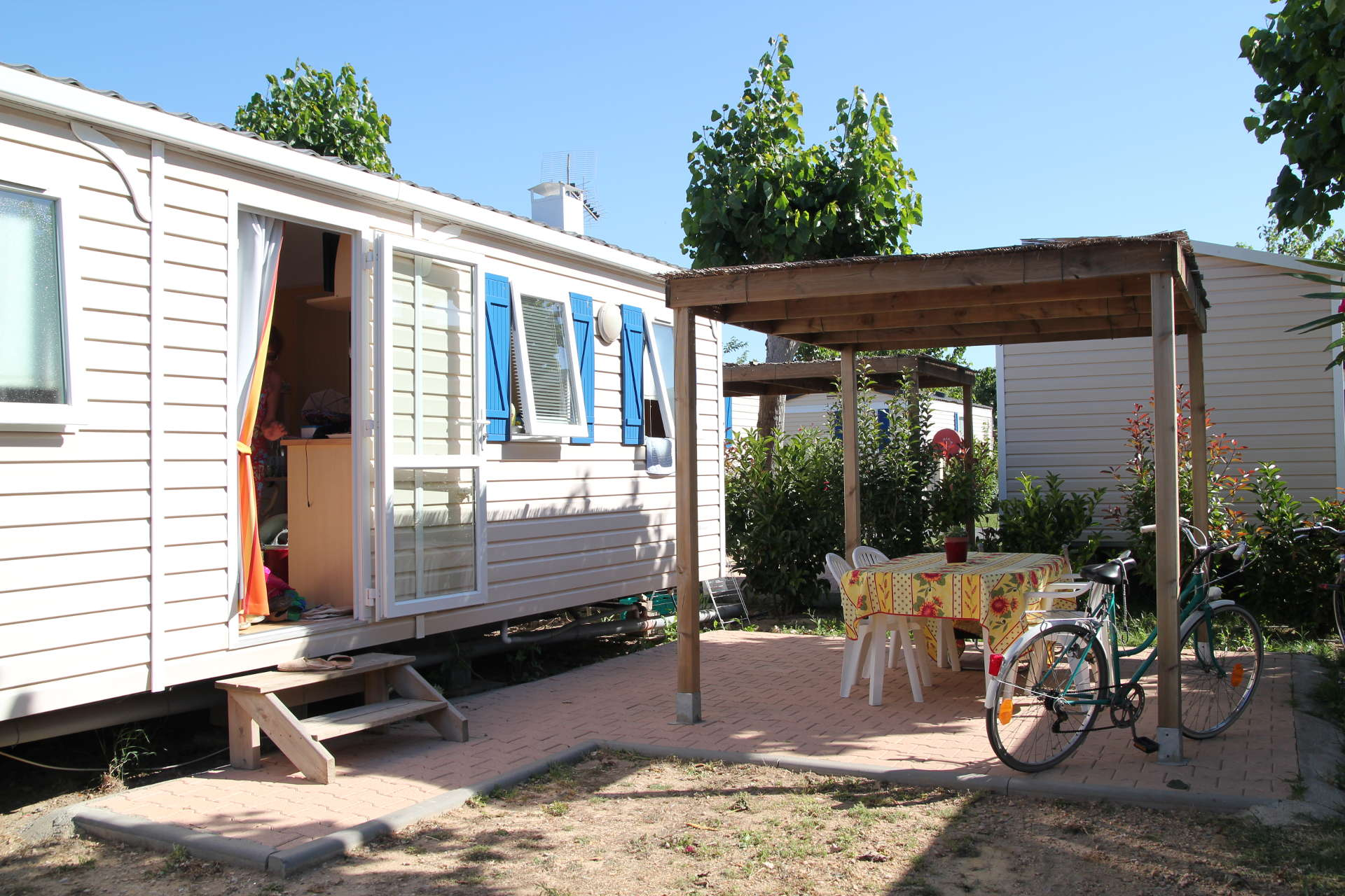 mobil-home first clim camping Valras Plage