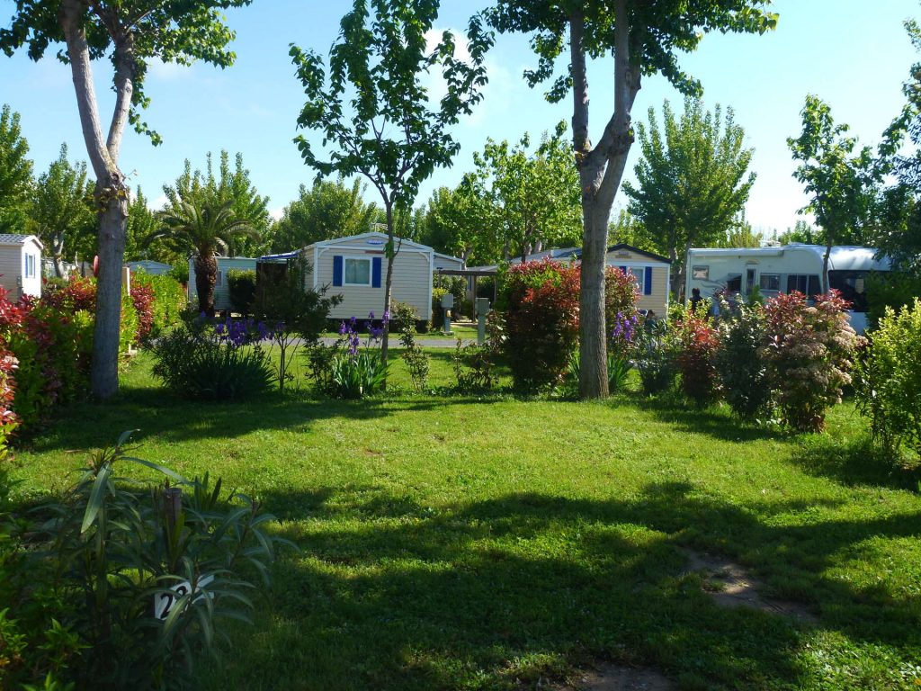emplacement tente caravane camping Valras-Plage