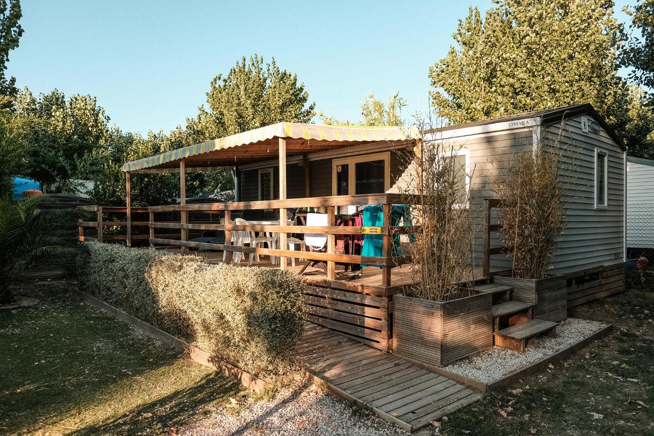 mobil-home cottage prestige camping Valras Plage