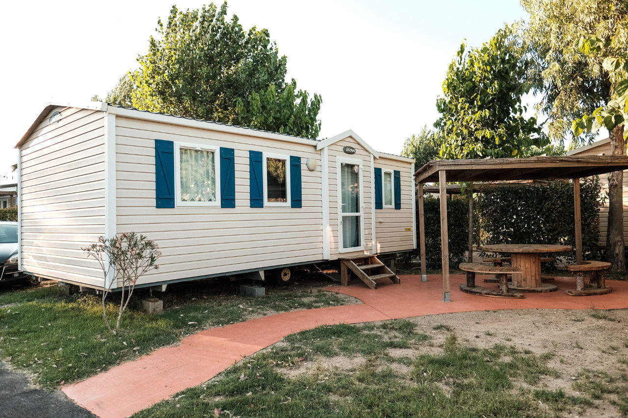 mobil-home first camping Valras Plage