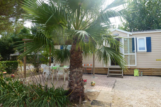 mobil-home holiday camping Valras Plage