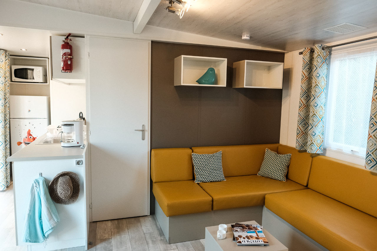 mobil-home must camping Valras Plage