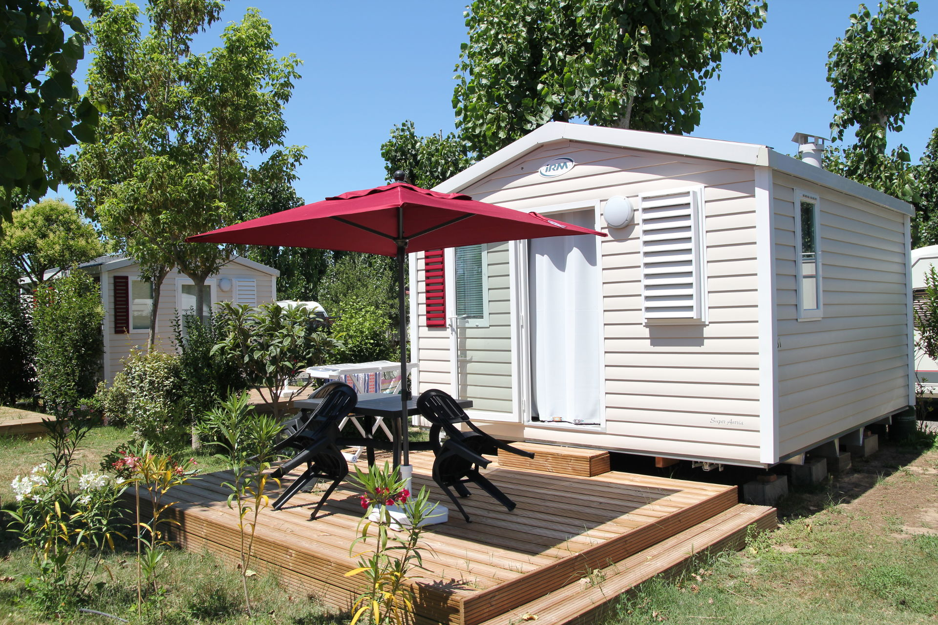 mobil-home summer suite camping valras plage