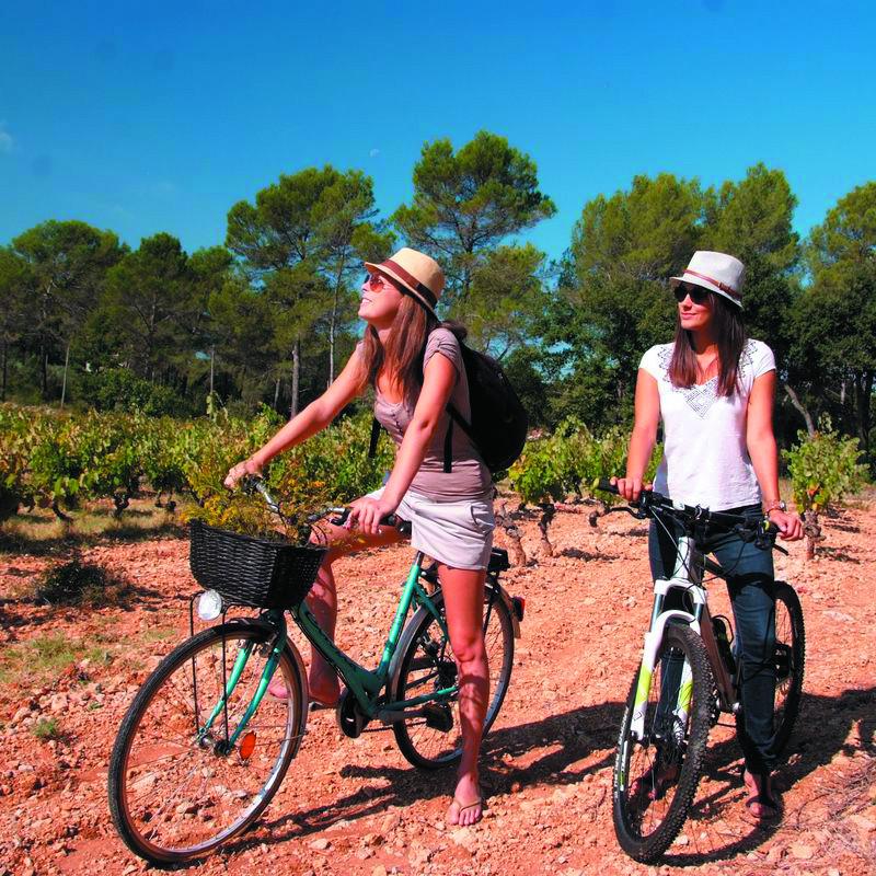 Randonnée vélo camping Valras plage