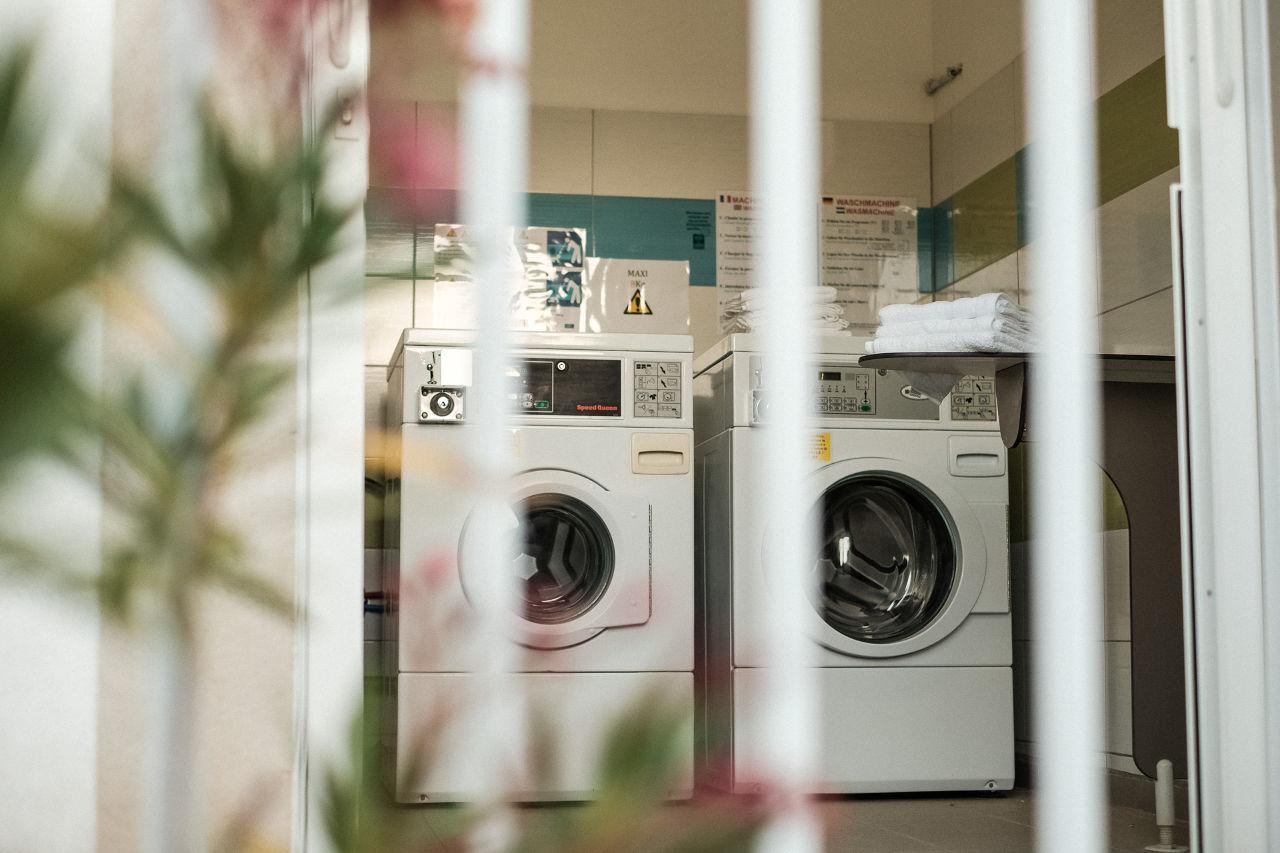 machine à laver camping Valras-Plage
