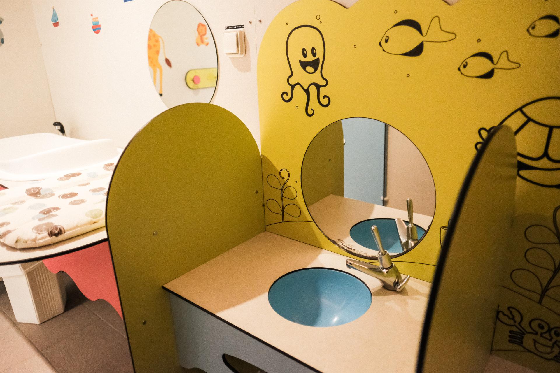 Toilette bébé camping